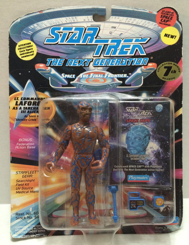 (TAS033020) - 1994 Playmates Star Trek The Next Generation - Lt. Cmdr LaForge, , Action Figure, Star Trek, The Angry Spider Vintage Toys & Collectibles Store  - 1