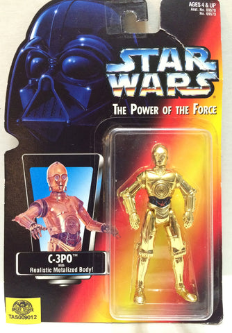 (TAS033021) - 1995 Kenner Tonka Star Wars The Power Of The Force - C-3PO, , Action Figure, Star Wars, The Angry Spider Vintage Toys & Collectibles Store  - 1
