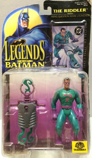 (TAS033022) - 1995 Kenner Legends Of Batman Action Figure - The Riddler, , Action Figure, Batman, The Angry Spider Vintage Toys & Collectibles Store  - 1