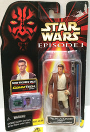 (TAS033025) - 1999 Hasbro Star Wars Episode I - CommTech Obi-Wan Kenobi, , Action Figure, Star Wars, The Angry Spider Vintage Toys & Collectibles Store  - 1