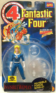 (TAS033026) - 1994 Toy Biz Marvel Fantastic Four Action Figure - Invisible Woman, , Action Figure, Marvel, The Angry Spider Vintage Toys & Collectibles Store  - 1
