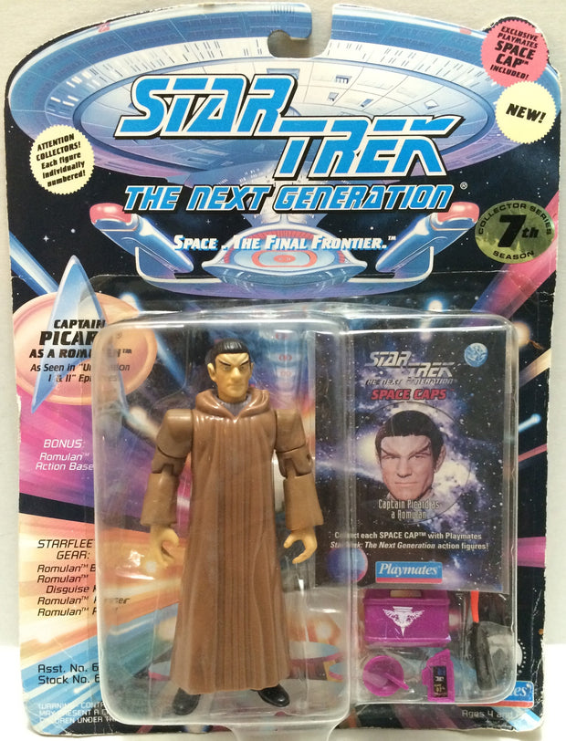 (TAS033027) - 1994 Playmates Star Trek The Next Generations - Captain Picard, , Action Figure, Star Trek, The Angry Spider Vintage Toys & Collectibles Store  - 1