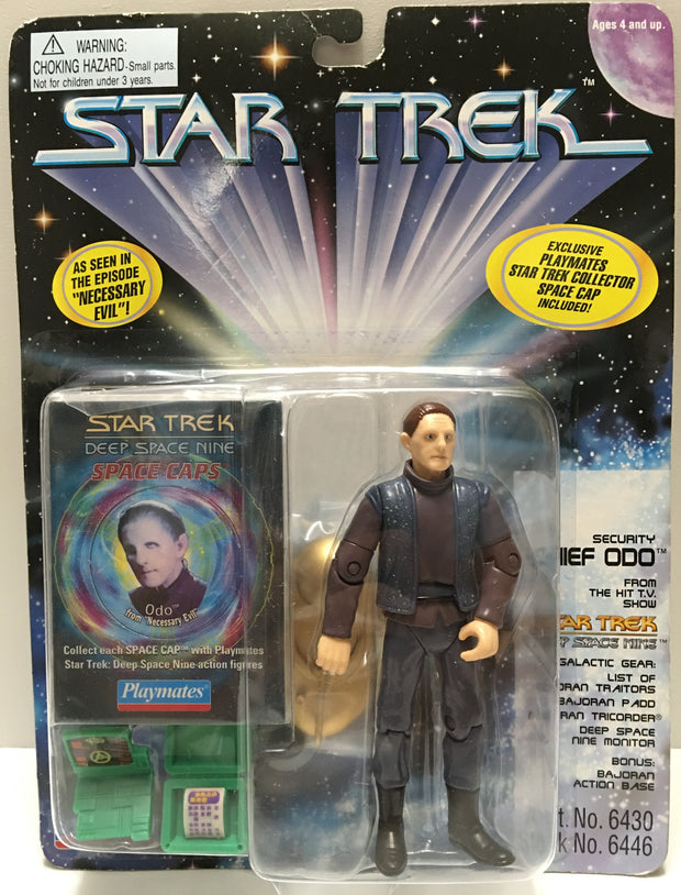 (TAS033031) - 1995 Playmates Star Trek Deep Space Nine Security Chief Odo, , Action Figure, Star Trek, The Angry Spider Vintage Toys & Collectibles Store  - 1