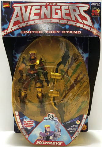 (TAS033035) - 1999 Toy Biz Marvel The Avengers United They Stand - Hawkeye, , Action Figure, Marvel, The Angry Spider Vintage Toys & Collectibles Store  - 1