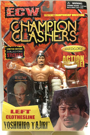 (TAS033040) - 2000 Toymakers ECW Champion Clashers Hardcore Yoshihiro Tajiri, , Action Figure, Wrestling, The Angry Spider Vintage Toys & Collectibles Store  - 1