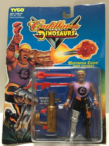 (TAS033044) - 1993 Tyco Cadillacs And Dinosaurs - Mustapha Cairo Chief Engineer, , Action Figure, Tyco, The Angry Spider Vintage Toys & Collectibles Store  - 1