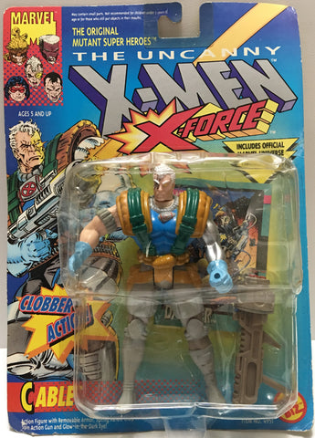 (TAS033048) - 1994 Toy Biz Marvel The UnCanny X-Men X-Force - Cable, , Action Figure, X-Men, The Angry Spider Vintage Toys & Collectibles Store  - 1