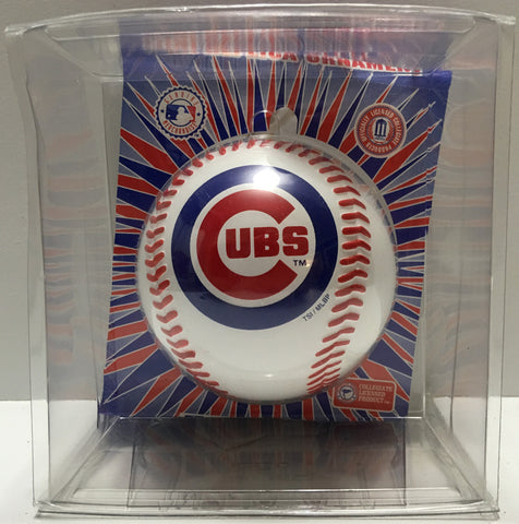 (TAS033057) - 1999 Sports Authentic MLB Christmas Mini Ornament - Chicago Cubs, , Ornament, MLB, The Angry Spider Vintage Toys & Collectibles Store  - 1