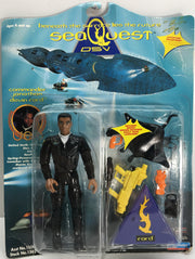 (TAS033068) - 1993 Playmates Sea Quest DSV Commander Jonathan Devin Ford, , Action Figure, Playmates, The Angry Spider Vintage Toys & Collectibles Store  - 1