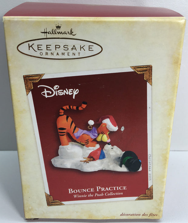 (TAS033076) - 2005 Hallmark Keepsake Ornament - Bounce Practice Winnie The Pooh, , Ornament, Hallmark, The Angry Spider Vintage Toys & Collectibles Store  - 1