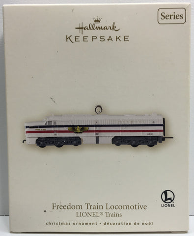 (TAS033078) - 2007 Hallmark Keepsake Ornament - Freedom Train Lionel Locomotive, , Ornament, Hallmark, The Angry Spider Vintage Toys & Collectibles Store  - 1