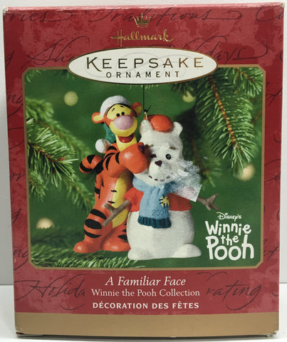 (TAS033085) - 2001 Hallmark Keepsake Ornament A Familiar Face Winnie The Pooh, , Ornament, Hallmark, The Angry Spider Vintage Toys & Collectibles Store  - 1