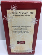 (TAS033087) - 2002 Hallmark Keepsake Ornament Tigger's Springy Tree Winnie Pooh, , Ornament, Hallmark, The Angry Spider Vintage Toys & Collectibles Store  - 2