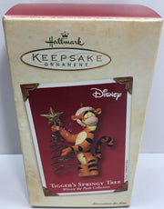 (TAS033087) - 2002 Hallmark Keepsake Ornament Tigger's Springy Tree Winnie Pooh, , Ornament, Hallmark, The Angry Spider Vintage Toys & Collectibles Store  - 1
