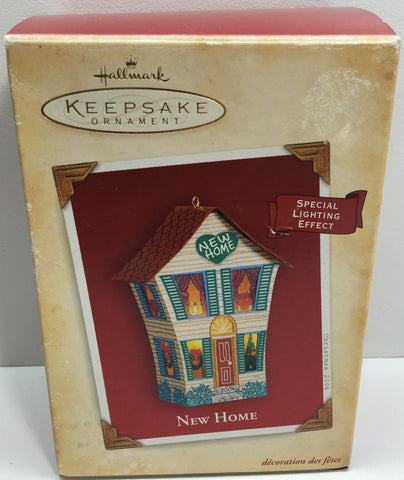 (TAS033090) - 2004 Hallmark Keepsake Ornament New House Special Lighting Effect - The Angry Spider Vintage Toys & Collectibles Store  - 1