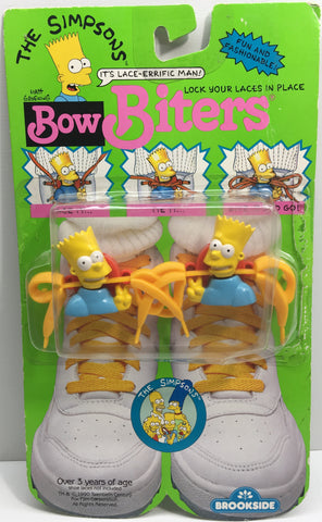 (TAS033131) - 1990 Brookside The Simpsons Bow Biters - Bart Simpson, , Clothing & Accessories, The Simpsons, The Angry Spider Vintage Toys & Collectibles Store  - 1