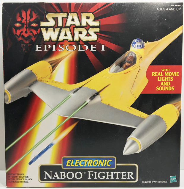 naboo fighter 1998 instructions