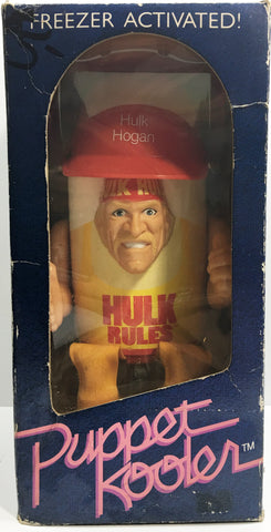 (TAS033143) - 1989 Puppet Kooler WCW WWF WWE Wrestling Figure - Hulk Hogan, , Action Figure, Wrestling, The Angry Spider Vintage Toys & Collectibles Store  - 1