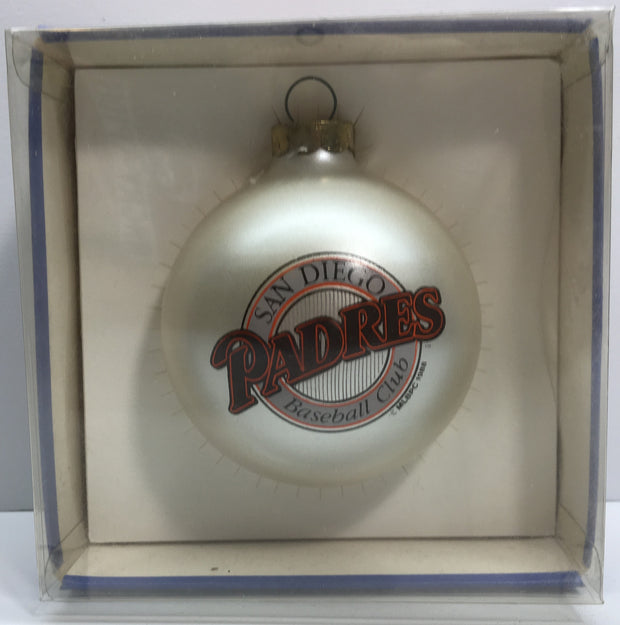(TAS033154) - 1988 Topperscot Vintage MLB Christmas Ornament - San Diego Padres, , Ornament, MLB, The Angry Spider Vintage Toys & Collectibles Store  - 1