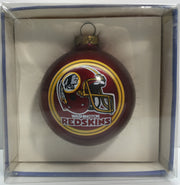 (TAS033157) - 1990 Topperscot Vintage NFL Christmas Ornament Washington Redskins, , Ornament, NFL, The Angry Spider Vintage Toys & Collectibles Store  - 1