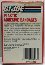 (TAS033160) - 1987 Hasbro Vintage G.I. Joe Plastic Adhesive Bandages, , Bath, G.I. Joe, The Angry Spider Vintage Toys & Collectibles Store  - 5