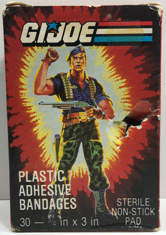 (TAS033160) - 1987 Hasbro Vintage G.I. Joe Plastic Adhesive Bandages, , Bath, G.I. Joe, The Angry Spider Vintage Toys & Collectibles Store  - 1