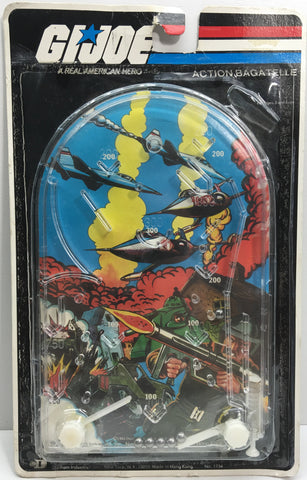 (TAS033164) - 1982 Hasbro Vintage G.I. Joe Handheld Toy Pinball Game, , Game, G.I. Joe, The Angry Spider Vintage Toys & Collectibles Store  - 1