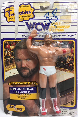 (TAS033175) - 1990 Just Toys WCW Wrestling Twistables Figure - Arn Anderson, , Action Figure, Wrestling, The Angry Spider Vintage Toys & Collectibles Store  - 1