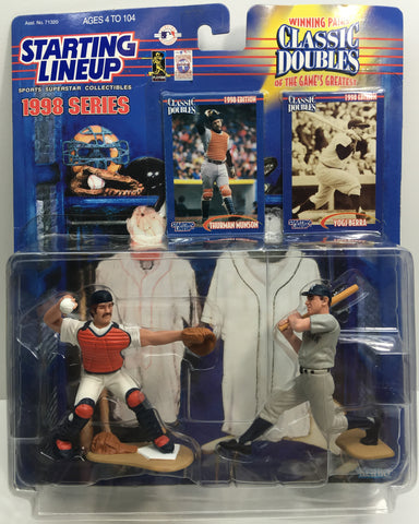 (TAS033177) - 1998 Kenner Starting Lineup MLB Classic Doubles - Munson & Berra, , Action Figure, MLB, The Angry Spider Vintage Toys & Collectibles Store  - 1