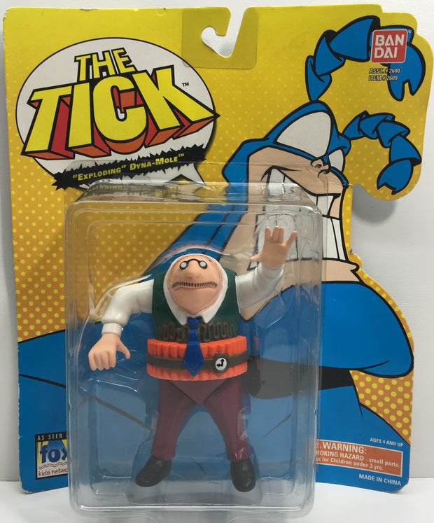"(TAS033192) - 1994 Bandai Fox - The Tick ""Exploding"" Dyna-Mole Action Figure, , Action Figure, Bandai, The Angry Spider Vintage Toys & Collectibles Store  - 1"
