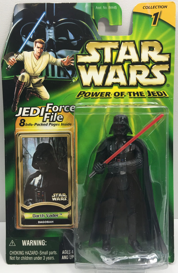 (TAS033218) - 2000 Hasbro Star Wars Power Of The Jedi Darth Vader Dagobah Figure, , Action Figure, Star Wars, The Angry Spider Vintage Toys & Collectibles Store  - 1