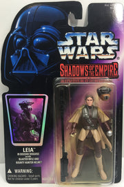 (TAS033257) - 1996 Hasbro Star Wars Shadows Of The Empire Leia Boushh Disguise, , Action Figure, Star Wars, The Angry Spider Vintage Toys & Collectibles Store  - 1