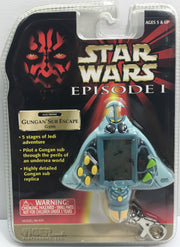 (TAS033272) - 1999 Tiger Electronics Star Wars Episode I Gungan Sub Escape Game, , Game, Star Wars, The Angry Spider Vintage Toys & Collectibles Store  - 1