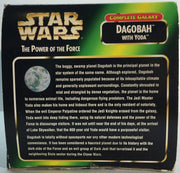 (TAS033277) - 1998 Hasbro Star Wars The Power Of The Force Galaxy Dagobah & Yoda, , Action Figure, Star Wars, The Angry Spider Vintage Toys & Collectibles Store  - 4