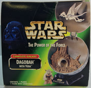 (TAS033277) - 1998 Hasbro Star Wars The Power Of The Force Galaxy Dagobah & Yoda, , Action Figure, Star Wars, The Angry Spider Vintage Toys & Collectibles Store  - 5