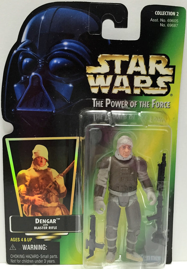 (TAS033278) - 1997 Hasbro Star Wars The Power Of The Force Dengar Action Figure, , Action Figure, Star Wars, The Angry Spider Vintage Toys & Collectibles Store  - 1