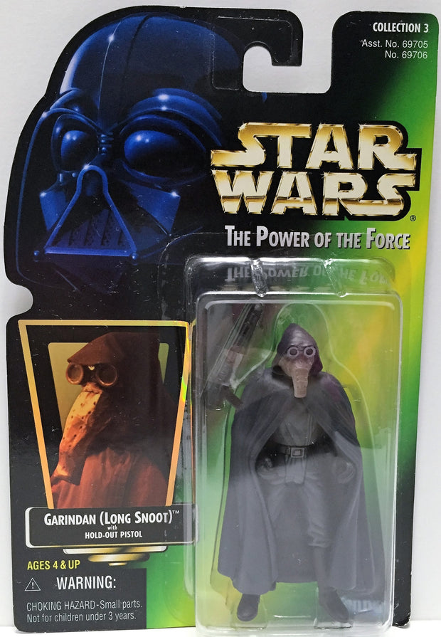 (TAS033284) - 1997 Hasbro Star Wars The Power Of The Force Garindan Long Snoot, , Action Figure, Star Wars, The Angry Spider Vintage Toys & Collectibles Store  - 1