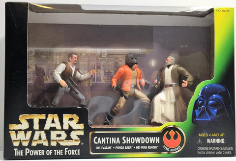 (TAS033288) - 1997 Hasbro Star Wars The Power Of The Force Cantina Showdown Set, , Action Figure, Star Wars, The Angry Spider Vintage Toys & Collectibles Store  - 1