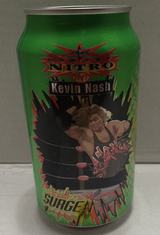 (TAS033312) - 1999 Surge WCW Monday Nitro TNT Wrestling Soda Can Bank Kevin Nash, , Coin Bank, Wrestling, The Angry Spider Vintage Toys & Collectibles Store  - 1