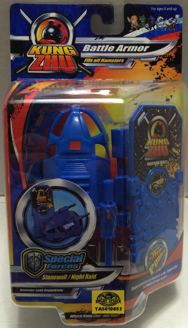 (TAS033313) - 2010 Cepia KungZhu Hamster Battle Armor Stonewall / Night Raid, , Action Figure, Cepia, The Angry Spider Vintage Toys & Collectibles Store  - 1