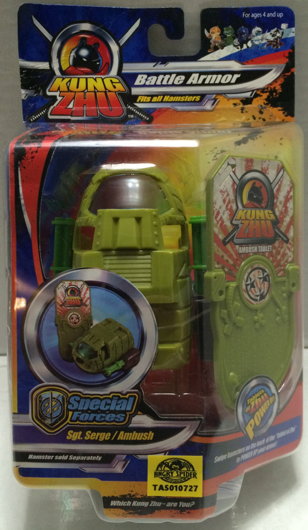 (TAS033320) - 2010 Cepia KungZhu Hamster Battle Armor Sgt. Serge / Ambush, , Action Figure, Cepia, The Angry Spider Vintage Toys & Collectibles Store  - 1