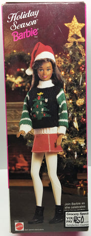 (TAS033328) - 1996 Mattel Holiday Season Special Edition Barbie, , Dolls, Barbie, The Angry Spider Vintage Toys & Collectibles Store  - 2