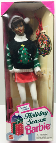 (TAS033328) - 1996 Mattel Holiday Season Special Edition Barbie, , Dolls, Barbie, The Angry Spider Vintage Toys & Collectibles Store  - 1