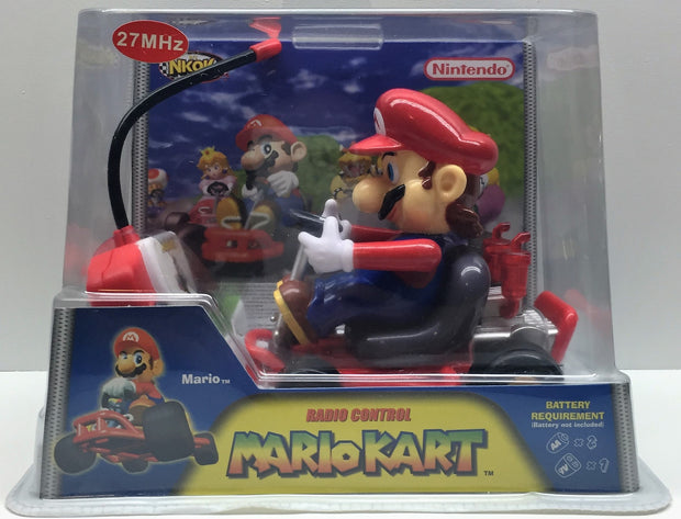 (TAS033337) - 2004 NKOK Nintendo Radio Control Mario Cart, , Game, Nintendo, The Angry Spider Vintage Toys & Collectibles Store  - 1