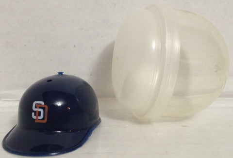 (TAS033387) - 1990 MLB Mini Gumball Machine Baseball Helmet San Diego Padres, , Other, MLB, The Angry Spider Vintage Toys & Collectibles Store