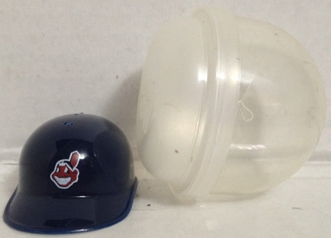 (TAS033395) - 1990 MLB Mini Gumball Machine Baseball Helmet Cleveland Indians, , Other, MLB, The Angry Spider Vintage Toys & Collectibles Store