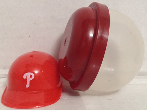 (TAS033399) - 1990 MLB Mini Gumball Baseball Helmet Philadelphia Phillies, , Other, MLB, The Angry Spider Vintage Toys & Collectibles Store