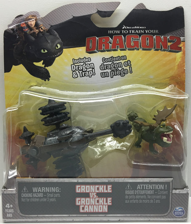 (TAS033402) - 2014 Spin Master How To Train Your Dragon 2 Gronckle vs. Cannon, , Action Figure, Spin Master, The Angry Spider Vintage Toys & Collectibles Store  - 1