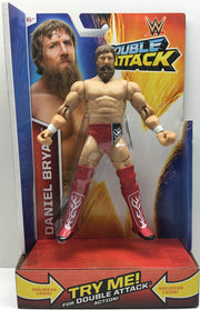 (TAS033404) - 2014 Mattel WWE Wrestling Double Attack Action Daniel Bryan, , Action Figure, Wrestling, The Angry Spider Vintage Toys & Collectibles Store  - 1