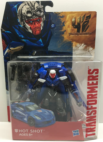 (TAS033409) - 2014 Hasbro Transformers Age Of Extinction Robot Car Hot Shot, , Action Figure, Transformers, The Angry Spider Vintage Toys & Collectibles Store  - 1